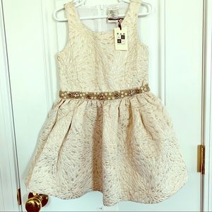 NWT Max Studio Special Occasion Party Dress 4-5y